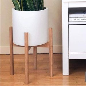 🎀 New Mid-Century Modern Plant Stand🎀